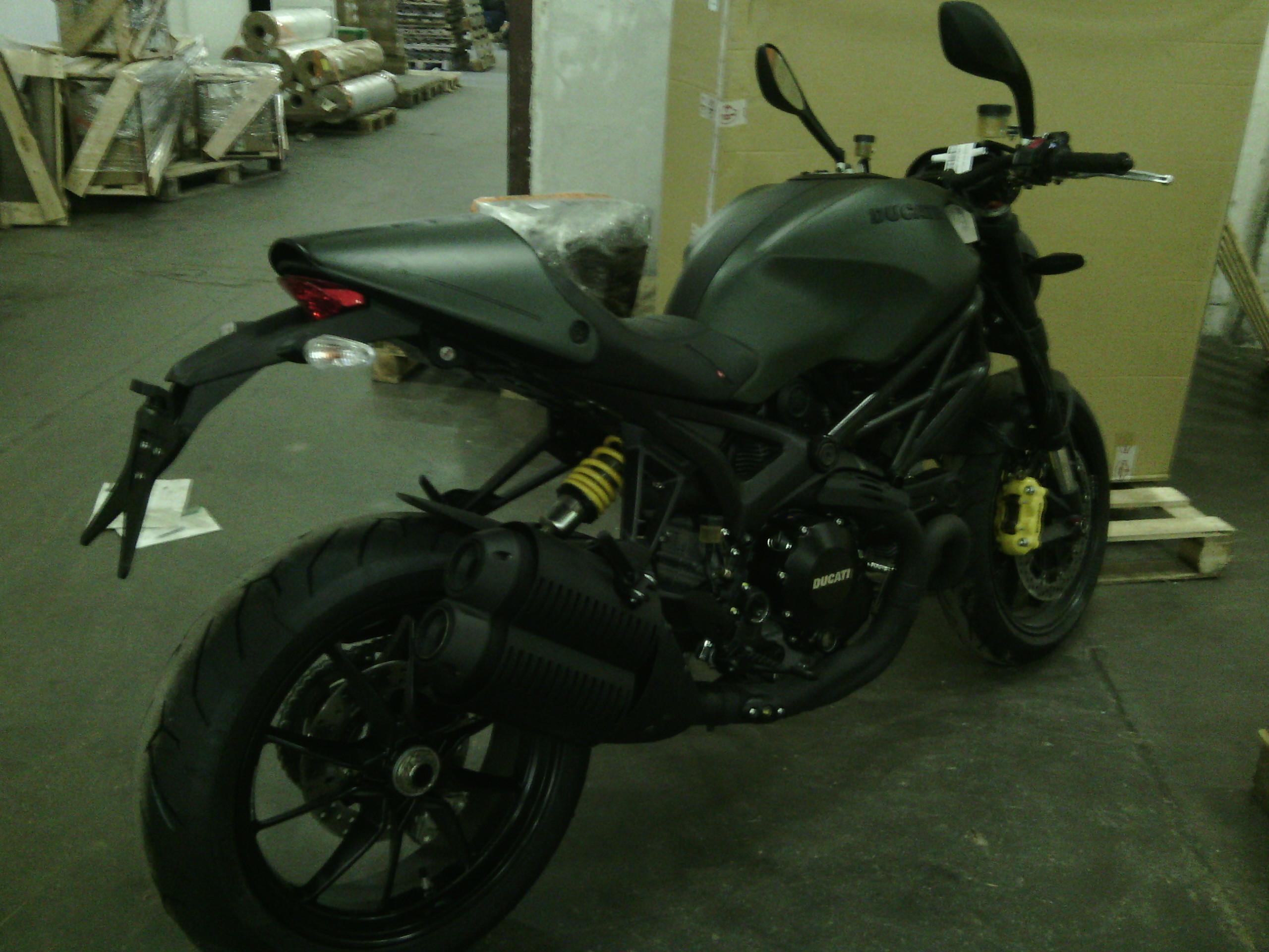 Доставка мотоцикла до транспортной компании